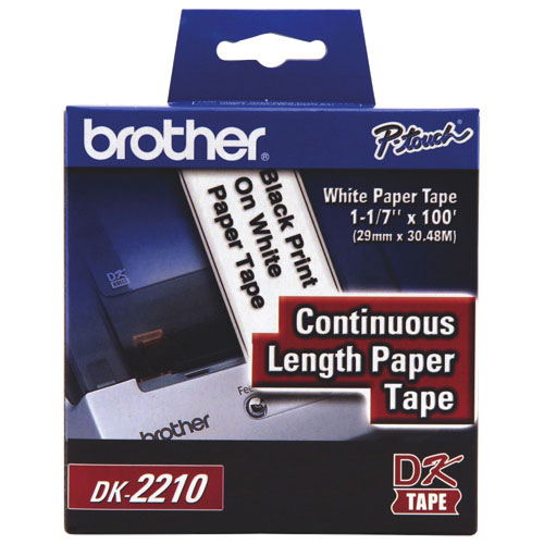 """Brother 1-1/7"""" Continuous Paper Tape (DK2210)"""