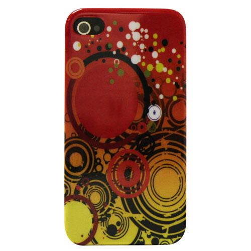 Étui d'Exian pour iPhone 4/4S (4G088) - Multicolore