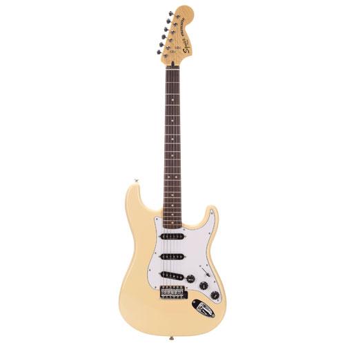 Guitare Stratocaster Vintage '70s Modified de Squier - Blanc rétro