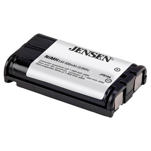 Jensen NiMH Rechargeable Cordless Phone Battery (JTB104)