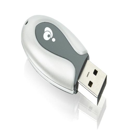 Adaptateur USB à Bluetooth avec débit de données amélioré d'IOGEAR (GBU321)