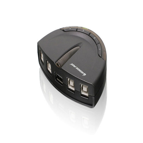 IOGEAR 4-Port USB 2.0 Automatic Printer Switch