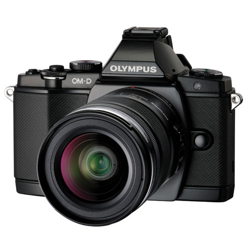Olympus E-M5 Mirrorless Camera with 12-50mm Lens Kit