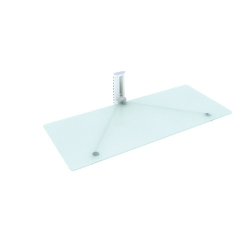 Sonax Single Wall Mount Shelf (MCS-318-C) - White