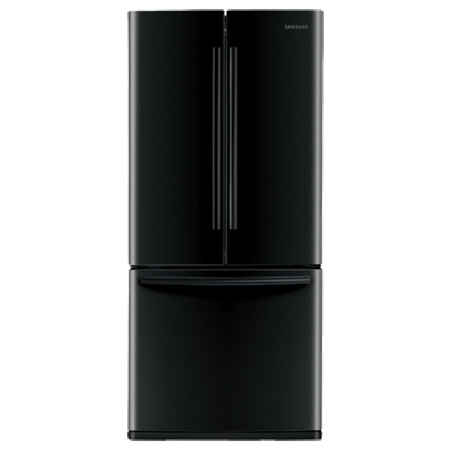 Samsung 21.6 Cu. Ft. French Door Refrigerator (RF220NCTABC) - Black