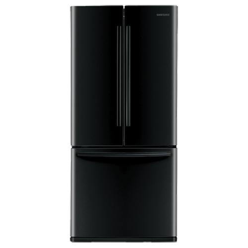 "Samsung 29.8"" 21.6 Cu. Ft. French Door Refrigerator (RF220NCTABC) - Black"
