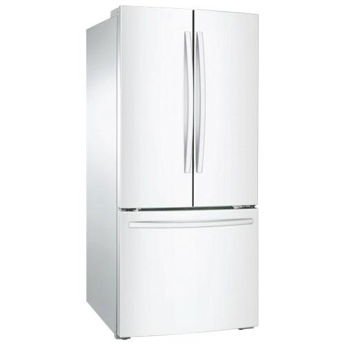Réfrigérateur 29,8 po à porte à deux battants de 21,6 pi3 de Samsung (RF220NCTAWW) - Blanc