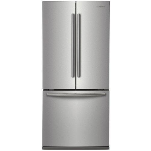 Réfrigérateur à porte à 2 battants 21,6 pi3 30 po de Samsung (RF221NCTASR) - Acier inoxydable