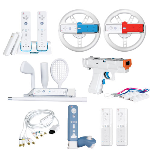 dreamGEAR 20-in-1 Mega Deal PLUS with Wii - White