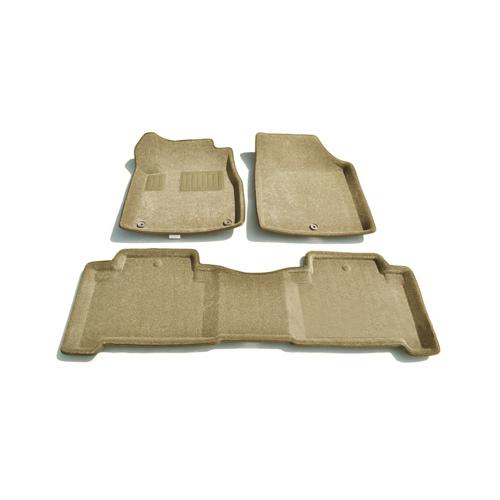 Findway 3D Floor Mats for 2007-2013 Acura MDX (01010BG) - Beige