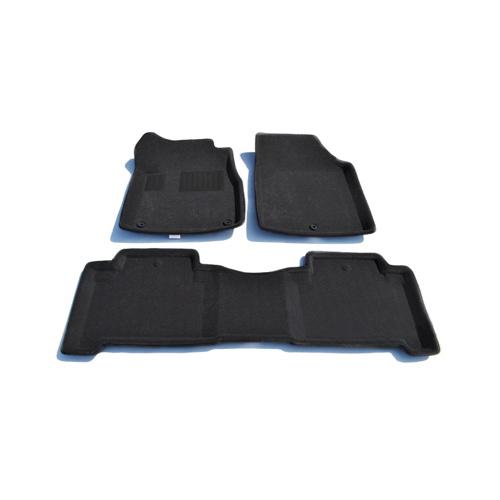Findway 3D Floor Mats for 2007-2013 Acura MDX (01010BB) - Black