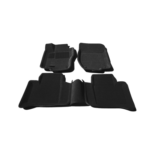 Findway 3D Floor Mats for 2006-2011 Mercedes Benz ML/GL (41030BB) - Black
