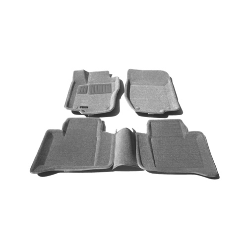 Findway 3D Floor Mats for 2006-2011 Mercedes Benz ML/GL (41030BY) - Grey