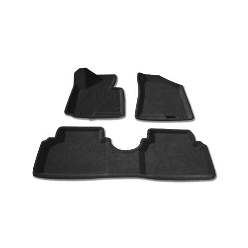 Findway 3D Floor Mats for 2010-2014 Hyundai Tucson (28080BB) - Black