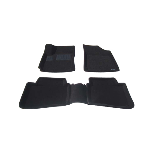 Findway 3D Floor Mats for Hyundai Elantra Touring 2009-2012 (28150BB) - Black