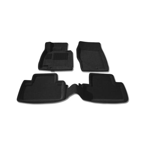 Findway 3D Floor Mats for 2008-2013 Infiniti EX35 (30020BB) - Black