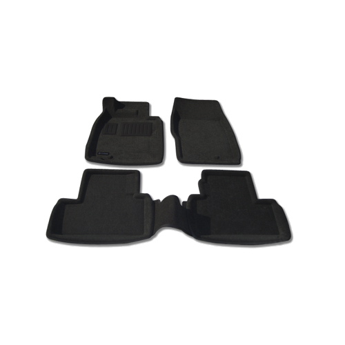 Findway 3D Floor Mats for 2007-2008 Infiniti G Series (30030BB) - Black