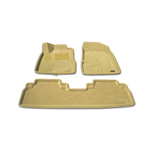 Findway 3D Floor Mats for 2010-2012 Lexus RX350 (37080BG) - Beige
