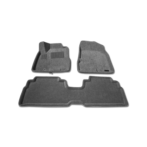 Findway 3D Floor Mats for 2004-2009 Lexus RX (37020BY) - Grey