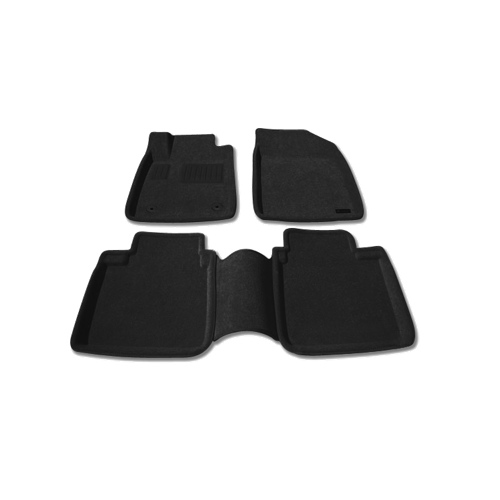 Findway 3D Floor Mats for 2007-2012 Lexus ES350 (37050BB) - Black