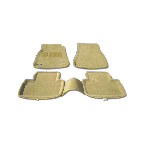 Findway 3D Floor Mats for 2006-2013 Lexus IS Sedan RWD (37060BG) - Beige