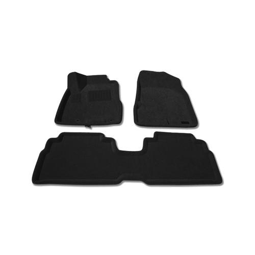Tapis de sol 3D de Findway pour Lexus RX 2004-2009 (37020BB) - Noir