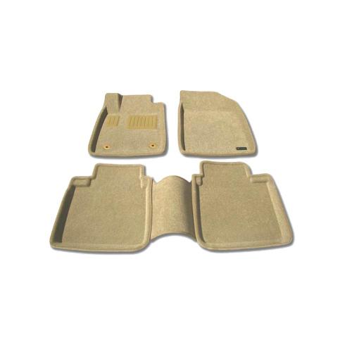 Findway 3D Floor Mats for 2007-2012 Lexus ES350 (37050BG) - Beige