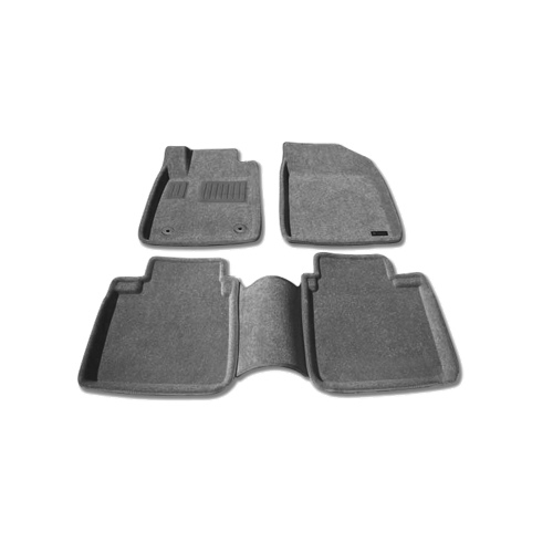 Findway 3D Floor Mats for 2007-2012 Lexus ES350 (37050BY) - Grey