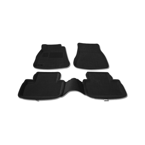 Tapis de sol 3D de Findway pour Lexus Berline IS à propulsion 2006-2013 (37060BB) - Noir