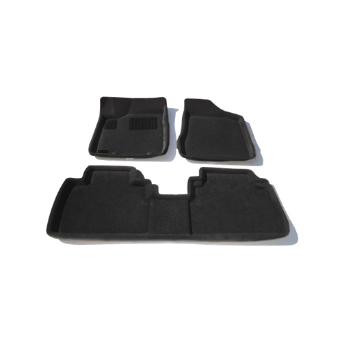 Findway 3D Floor Mats for 2003-2008 Nissan Murano (46120BB) - Black