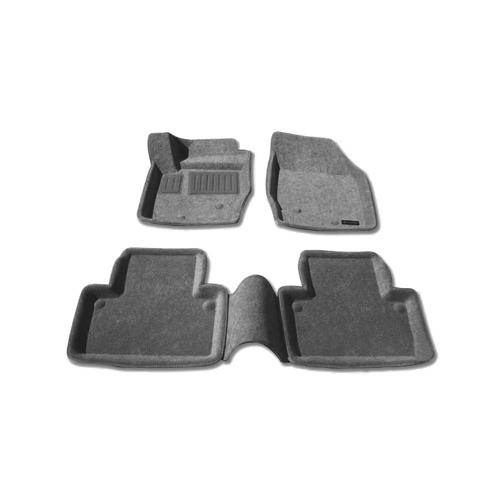 Tapis de sol 3D de Findway pour Volvo XC90 2003-2014 (68020BY) - Gris