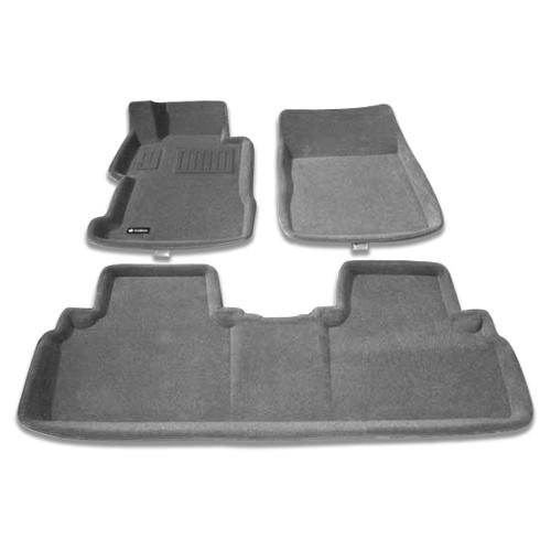 Tapis de sol 3D de Findway pour Honda Civic Berline 2006-2011 (26070BY) - Gris