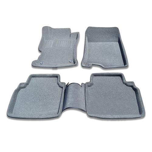 Findway 3D Floor Mats for 2008-2012 Honda Accord Sedan (26020BY) - Grey