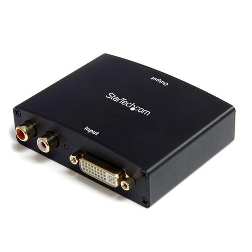 Adaptateur vidéo DVI à HDMI avec audio de StarTech (DVI2HDMIA)