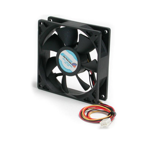 StarTech 92 x 25mm Ball Bearing PC Case Cooling Fan with TX3 Connector