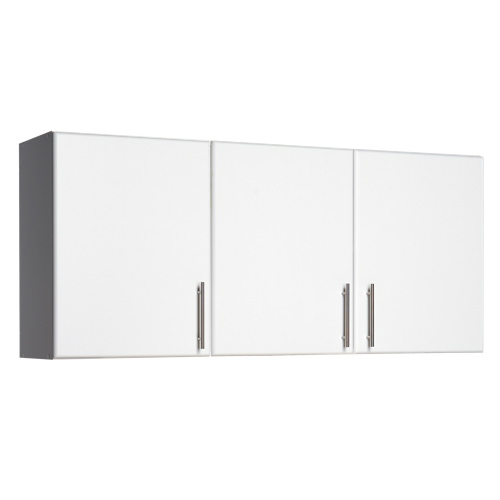 Armoire murale 2 tablettes de 54 po elite blanc for Armoire murale bureau