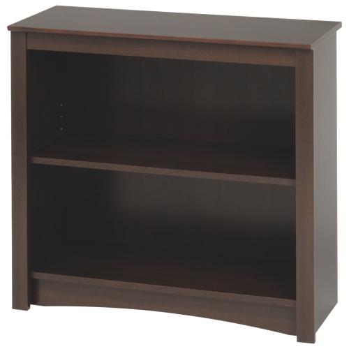 """29"""" 2-Shelf Bookcase - Espresso Brown"""