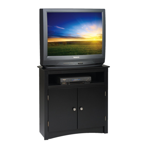 "Prepac 32"" 2-Shelf TV Stand Cabinet - Black"