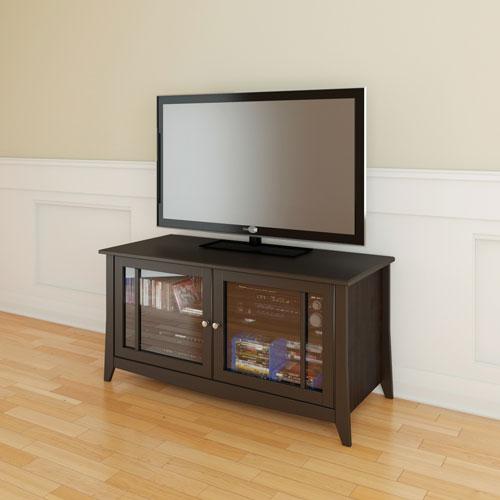 "Nexera Elegance TV Stand for TVs Up To 53"" - Espresso"