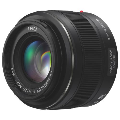 Objectif 25 mm Leica DG Summilux de Panasonic (HX025)