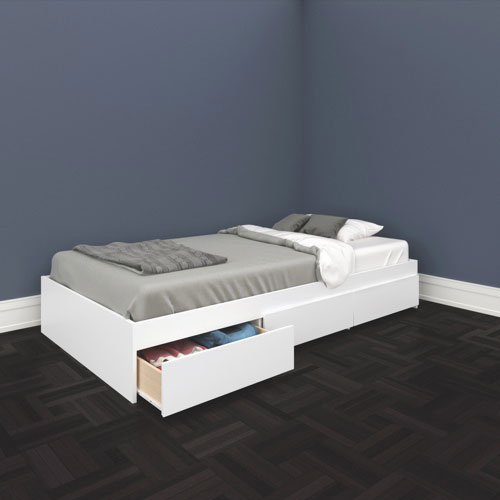 Single beds single beds for teenagers 92 with additional for Single bed frame without headboard