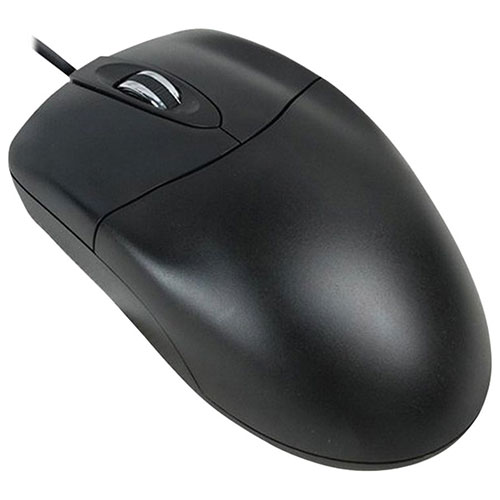 Adesso USB Optical Mouse (HC-3003US) - Black