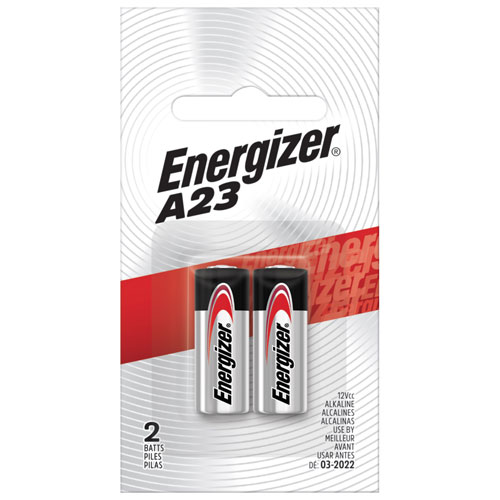 Energizer A23 2-Pack Specialty Batteries (A23BPZ-2)