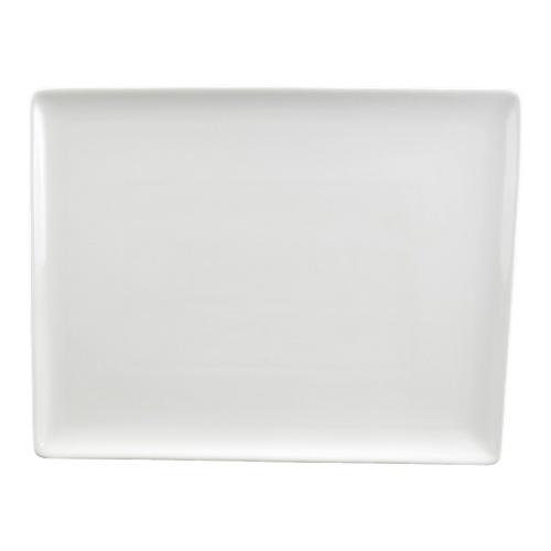 "Tannex 10"" Rectangular Plate - White (94083)"