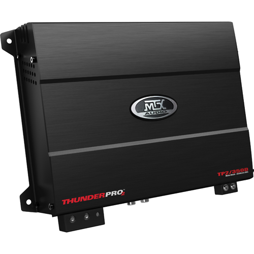 Amplificateur monobloc de 350 W Thunder Pro 2 de MTX pour l'auto (TP2/350D)
