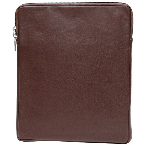 """Ashlin Taysha 10"""" Leather Tablet Case - Dark Brown"""