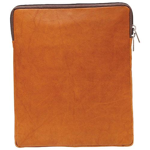 "Ashlin Taysha 10"" Leather Tablet Case - Brown"