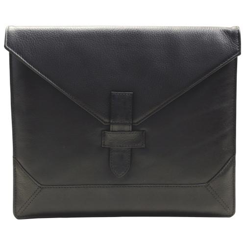 Étui-enveloppe en cuir d'Ashlin pour tablette de 10 po - Noir (PDT103-18-01)