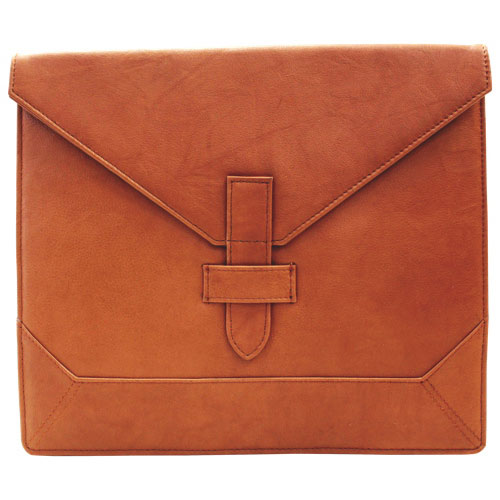 "Ashlin 10"" Leather Envelope Tablet Case - Brown (PDT103-18-08)"