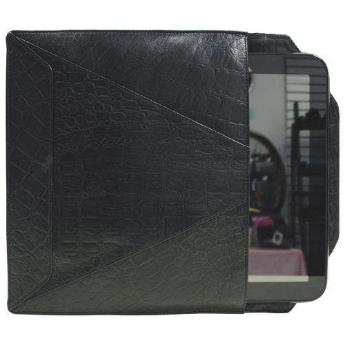 "Ashlin 10"" Leather Envelope Tablet Case - Black (PDT109-28-01)"